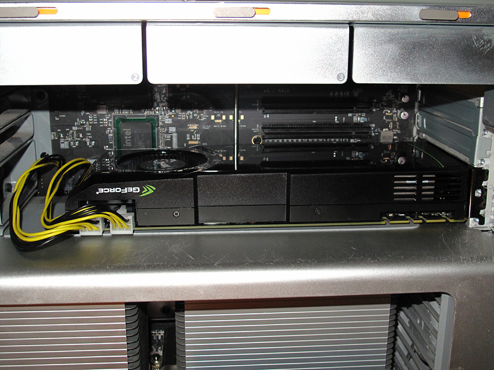 Graphics Card GPU Installation in a Mac Pro 4,1 5,1